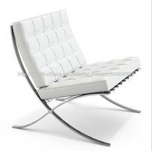 muebles modernos de barcelona silla réplica en cuero