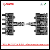 5-1 T type MC4 compatible solar pv branch connector ,FMMMMM+MFFFFF
