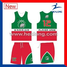 Healong Design Your Own Snap On Name Brand Basketball Jersey