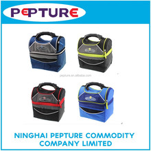 Double deck insulated cooler bag lunch bag
