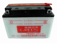 Green brand powerful 12v 6.5ah motorcycle battery from china