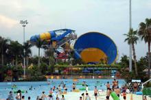 2015 Big tornado hot sale whirlwind water slide ride amusement equipment for sale