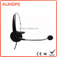Hot-selling universal call center headphones referee headset with microphone