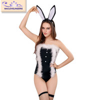 Maclove 2015 Wholesale Women Sexy Bunny Cosplay costume