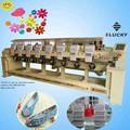 Nuevo 2015 en casa del bordado de la máquina del bordado de la tapa de tul t- shirt utiliza la máquina del bordado
