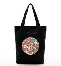 Alibaba China Wholesale Colored Cotton Shopping Tote Bag