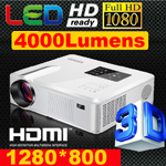 Проектор ATCO 200Lumens 1000: 1 digita LCD TV HDMI USB CT-800