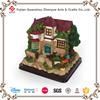 2015 cheapest resin fairy garden house for sale