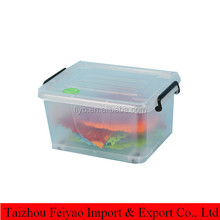 small transparent waterproof container