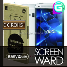 GOLDSPIN Perfect fit 0.3mm Tempered Glass Screen Film for HTC one M7