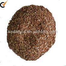 Golden exfoliated vermiculite