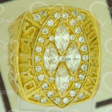 custom made wholesale brass Championship ring 1993 Dallas Cowboys Champions ring