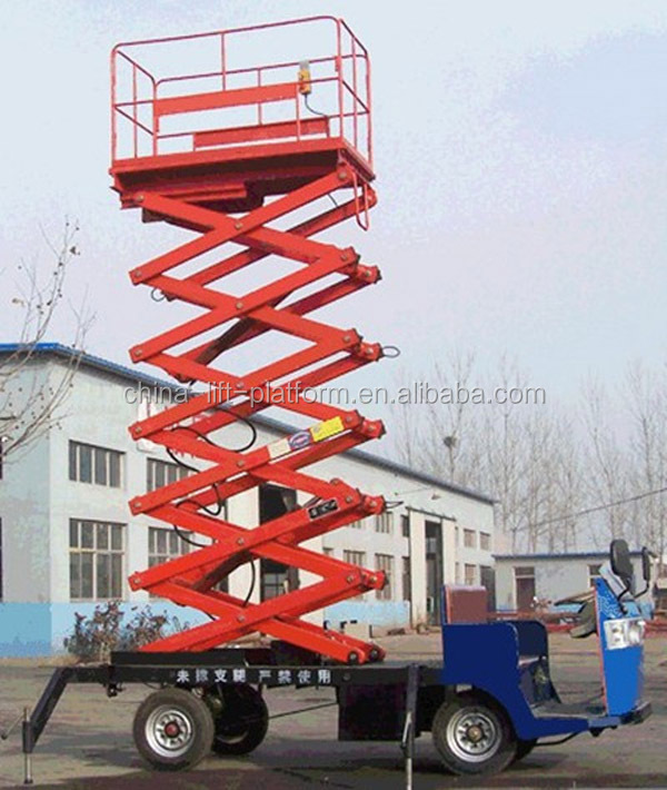 Hydraulic Motorcycle Lift Truck : M hydraulic motorcycle truck mounted scissor lift table