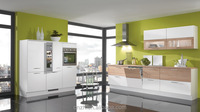 Prefabricated whole kitchen cabinets set