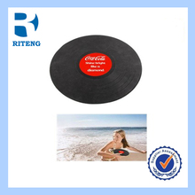 Big Promotion pet toys soft silicone Frisbee bites no-hurting the tooth-resistant outdoor dog toy 17CM five colors