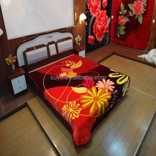 Stylish new arrival home deep red blanket