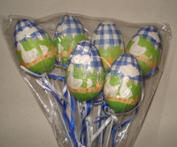 PP material plastic egg decoration for easter holiday