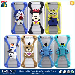 Christmas gift universal silicone bumper case for mobile phone