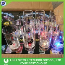 2015 Wholesale Fashionable Light Cup,Bar Glow Shot Cup,Flashing Party Cup