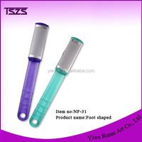 foot care tools plastic handle foot files