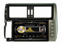 Android new car DVD for Toyota Prado 2014 DVD player with GPS radio bluetooth 3G WIFI