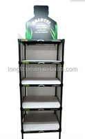 Freestanding Drink Holder-Beverage Merchandiser Display