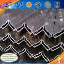 HOT! OEM aluminum triangle profile / Top 5 aluminium extrusion company / building metal meterial architectural aluminum profile
