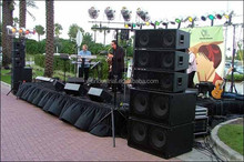 Full range 15 Inch outdoor sound stage monitor
