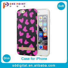New Arrival pink heart patterns tpu luxury cell phone cases