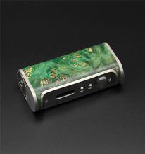 Yuan Fei Tech New Arrival Stabilized Wood Temp Control Mod pandora Box Mod mod vapor vapor batteries