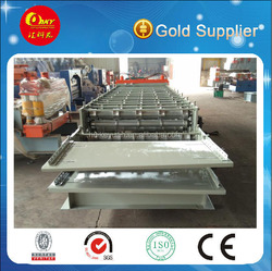 New condition corrugated and 6 ribs roll forming machine