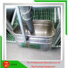 2015 the latest stainless feed trough for pig farm