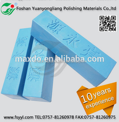 polishing wax for buffing stainless steel pipe