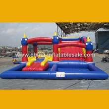 2015 China factory supply inflatable slide water beach[H2-1071]