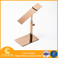 Factory sale metal popular shoe display rack for shop show,shoe stand case for display
