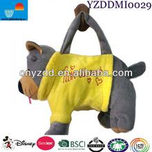 Animal Print Bag / Plush Animal Bag / Plush Animal Print Bag