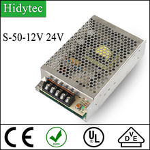 Competitive price S-50-12V 24V Switching Power Supply 50W