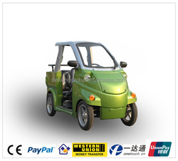 family use 3 seats pure electromotion vehicle electric vehicle