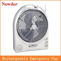 """12"""" ac/dc rechargeable fan, solar fan rechargeable ac dc"""