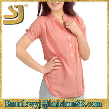 new model guangzhou women's clothing manufacturer shirt for women