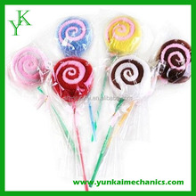 Fashion valentine lollipop towel cake/gift towel wholesale