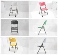 all colors plastic folding banquet chairs