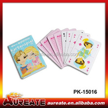 Funny educational kids playing card