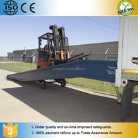 Hot sale Hydraulic car ramps for sale / fork lift ramps /used for dock ramps