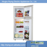 Sliver stainless glass remote compressor refrigerator