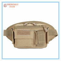 Fashion canvas Men Tactical Hip police Waist bags Bag For Hiking