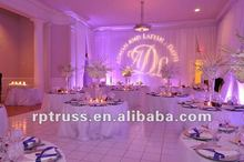 2015 RP pipe and drape for wedding,show,events/moroccan wedding decoration