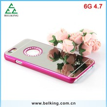 High Quality Diamond Circle Case For iPhone 6, For iPhone 6 Plastic Many Colors PC Hard Case
