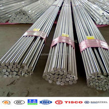 ASTM standard series 304l stainless steel round bar for construction