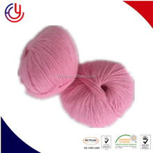 Attractive solid color bright 100% acrylic yarn bulky super value yarn for hand knitting from China